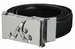 MD 10043 Belt and Bucklelighter AB Silver
