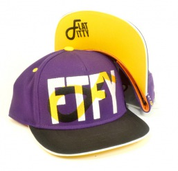 Flat Fitty - snapback 93000 black