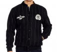 "C&C I1370300 ""PINSTRIPE"" JACKET BLACK"