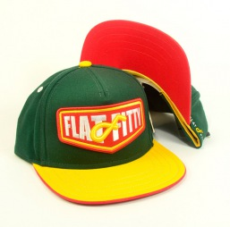 Flat Fitty - snapback 92400 yellow