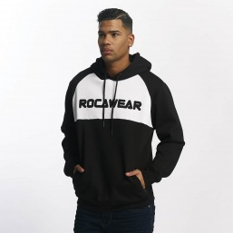 "RocaWear mikina ""FONT""  RWHD010BLKWHT"